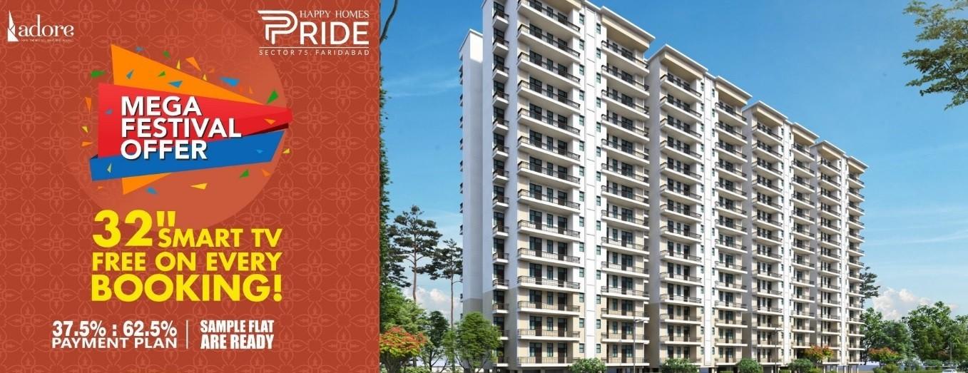 Adore Happy Homes Pride Sector 75 Faridabad